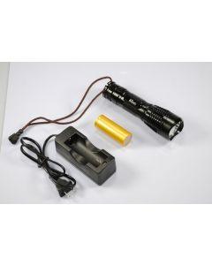 Latarka LED UniqueFire UF-2180 Cree XM-L T6 3-tryb 1200-Lumen pamięci zawarte battry idealna ładowarka