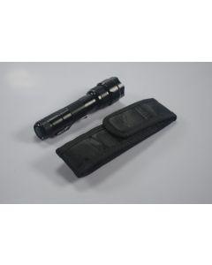 Latarka krążenia Kabura na jednej baterii 18650 latarki