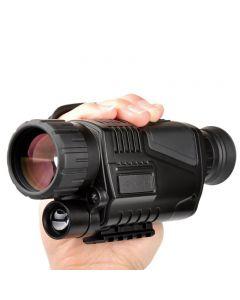 5 x 40 na podczerwień Infrared noc wizji monokularowy noktowizor cyfrowy zakres dla polowania teleskop długi zakres z wbudowaną kamerą