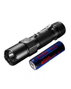 JETBEAM KO-02 EDC Cree XHP35 1800LUMENS 21700 bateria USB akumulator LED latarka