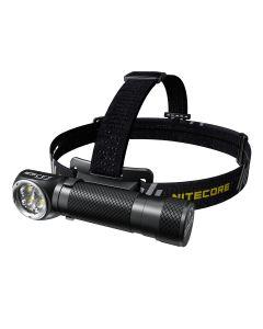 Nitecore HC35 4 x CREE XP-G3 S3 LED 2700 lumenów 4 metry 21700 bateria USB akumulator reflektora