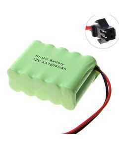 Ni-MH AA Battey V 1800mAh SM Plug Battery Pack