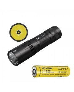 Nitecore R40 V2 CREE XP-L2 V6 LED 1200 lumenów USB Akumulator 21700 Latarka