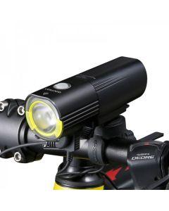 Gaciron V9S Reflektor rowerowy USB Charge Wewnętrzna bateria LED Przednia lampa tylna Oświetlenie rowerowe Oświetlenie wizualne ostrzeżenie bezpieczeństwa Latarnia