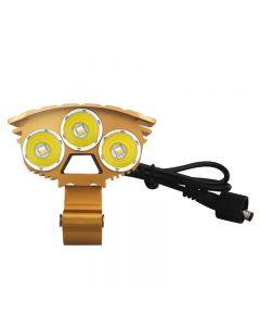 UniqueFire HD-017 3 * Cree XM-L2 4 tryby Max 2700 lumenów światło rowerowe Rower przednie światła