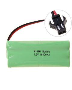 Ni-MH AA 1800mAh 7.2V Duży akumulator SM Plug
