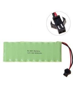 Ni-MH AA Big SM Plug 12V 1800mAh Battery Pack