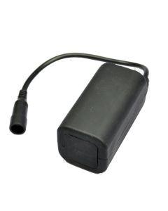 Wodoodporny akumulator 8.4V 4 * 18650 do świateł rowerowych