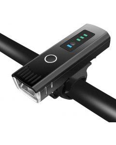 światło rowerowe 350 Lumen latarka na rower przeciwodblaskowy por rower światło USB akumulator rowerowe reflektor akcesoria rowerowe
