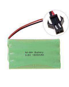 Ni-MH AA 9.6V 1800mAh duży zestaw akumulatorów Złącze SM
