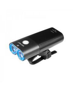 GACIRON V9D-1800 Reflektor Rower Światło 1800 lumenów Przewijanie REFLEKTORY LED Remote Switch Lampa USB Akumulator przednie światła