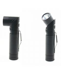 USB Rechargeable LED CREE XM-L T6 700 lumenów regulowany reflektor magnes latarka latarka