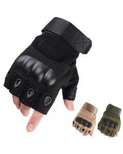 Taktyczne wspinaczka rękawice Fingerless pół palca sportowy motocykl rower wojsko piesze wycieczki, szkolenia, polowanie, Wędkarstwo, wyścigi rowerowe