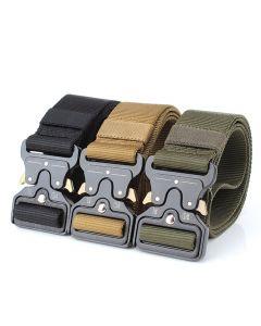 ENNIU pasy taktyczne nylonowy pas z metalu klamra regulowane Heavy Duty szkolenie talia pasa Polowanie akcesoria