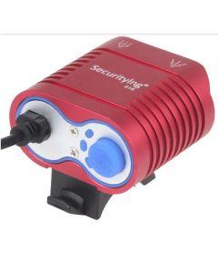 UniqueFire HD-016 2 * Cree XM-L2 4 tryby 1800 lumenów LED rower rower Przednie światła czerwone światło