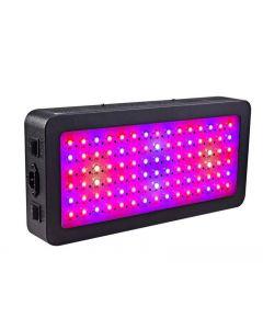 LED rosną światła, 600 Watt pełne spektrum światła roślin z przełącznika, IR & UV rośnie Lampa zestawy cieplarnianych hydroponicznych rozsady warzyw i kwiatów