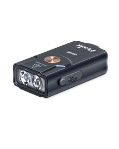 Fenix E03R 260 lumenów LED EDC USB Akumulator MINI Latarka z kluczem MINI