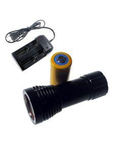 D32VR nurkowanie światła 2 x CREE XM-L T6 + 2 xCREE XP-E 100 metrów podwodne fotografowanie nurkowanie latarka latarka + 1 x 32650 + ładowarka