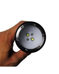 Latarki nurkowe EternalFire D32VR nurkowania światło 100 metrów czerwone i białe światło podwodne fotografowanie nurkowanie mini-latarka LED