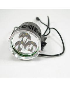 NIEBO promień 3T6 rowerów światło 3xCree XM-L T6 lumenów 3800 4 tryby rowerowe LED światła