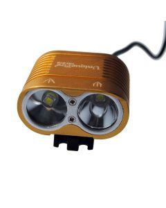 UniqueFire HD-016 2 * Cree XM-L2 4 tryby 1800 lumenów LED rower światła roweru Przednie światła Glod