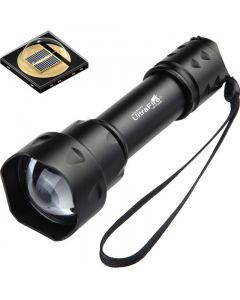 UltraFire T20 10W  Latarka 850nm 940nm Night Vision Zoomable  LED Latarka