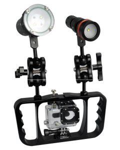 NOWE ARCHON Z08 nurkowanie latarki Gopro Lampa ramię fotografii wspornik Gopro /Camera uchwyt latarki wspornik