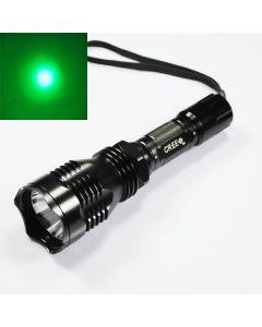 UniqueFire HS-802 Cree Zielone światło Długi zasięg Latarka LED