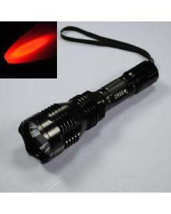 UniqueFire HS-802 Cree Czerwone światło Dalekiego zasięgu Latarka LED